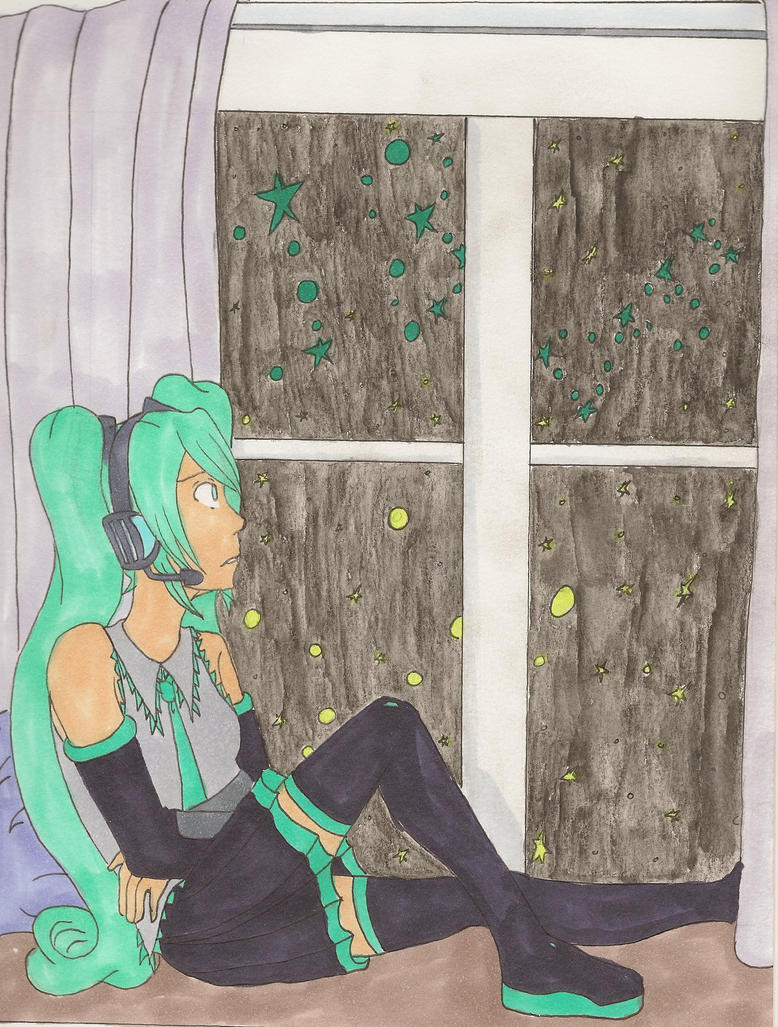 MikuExpo: Ten Thousand Stars by SnowAngelRika