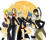 Happy 10th Anniversary Soul Eater - June 24, 2013