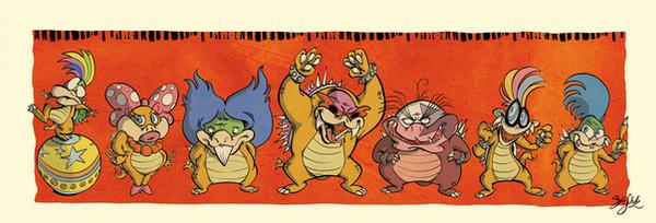 The Koopabrats by Themrock