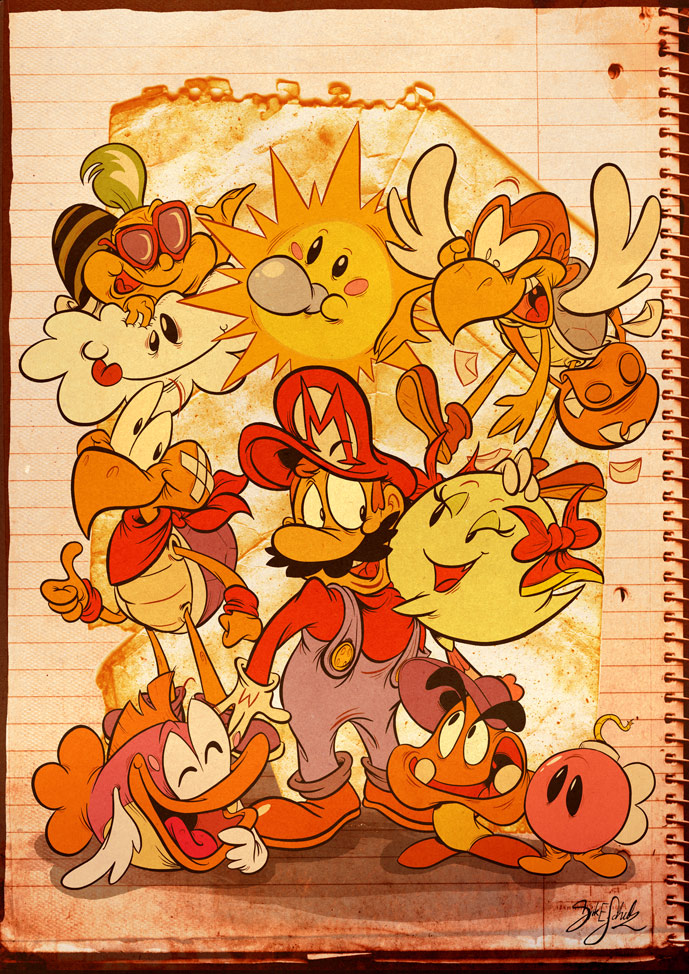 Paper Mario by Themrock