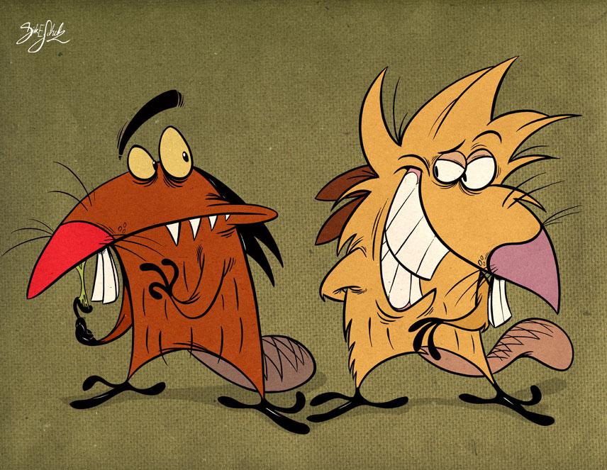 Angry Beavers