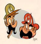 Mario Bros. Heads