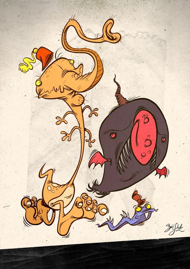 Paper Eater Monster - 05 by Themrock