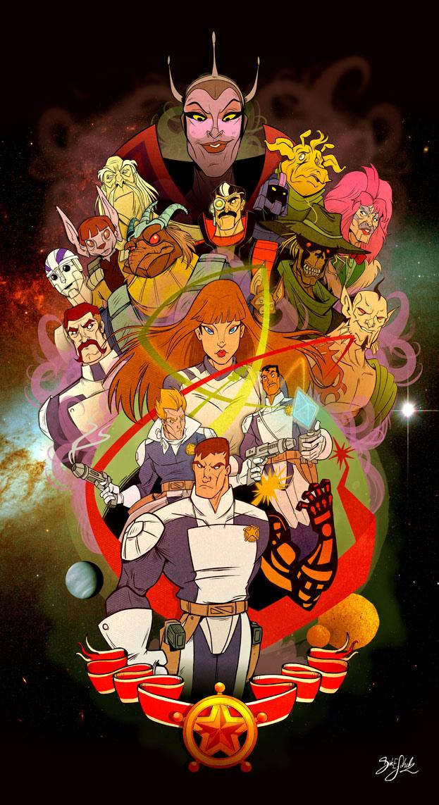 Galaxy Rangers Collab