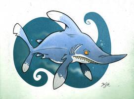 Shark 01 - Oceanic White Tip
