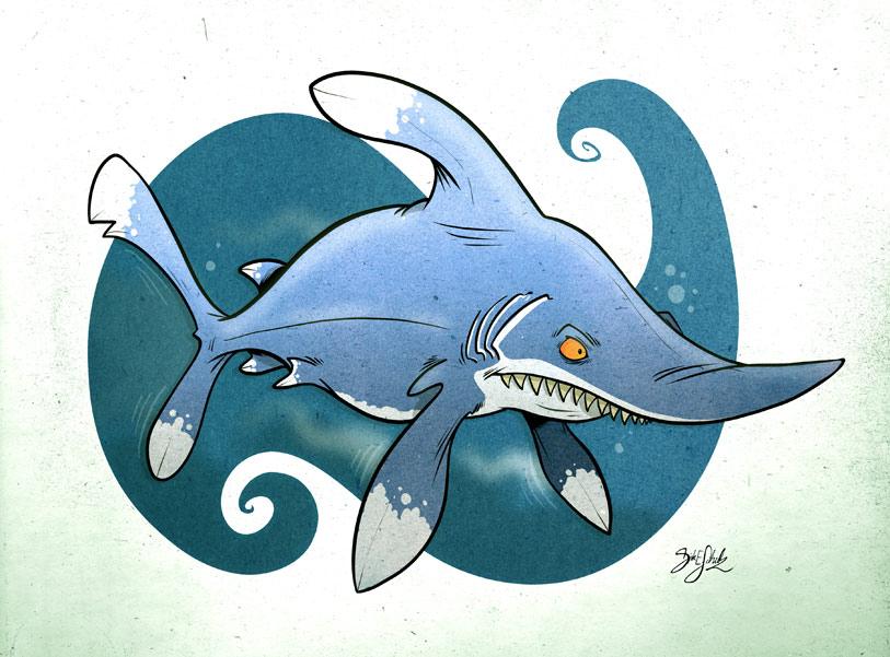 Shark 01 - Oceanic White Tip by Themrock