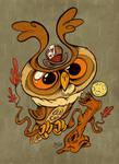 Owltober - Cincinnati Owl