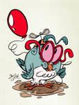 Owltober - My Balloon
