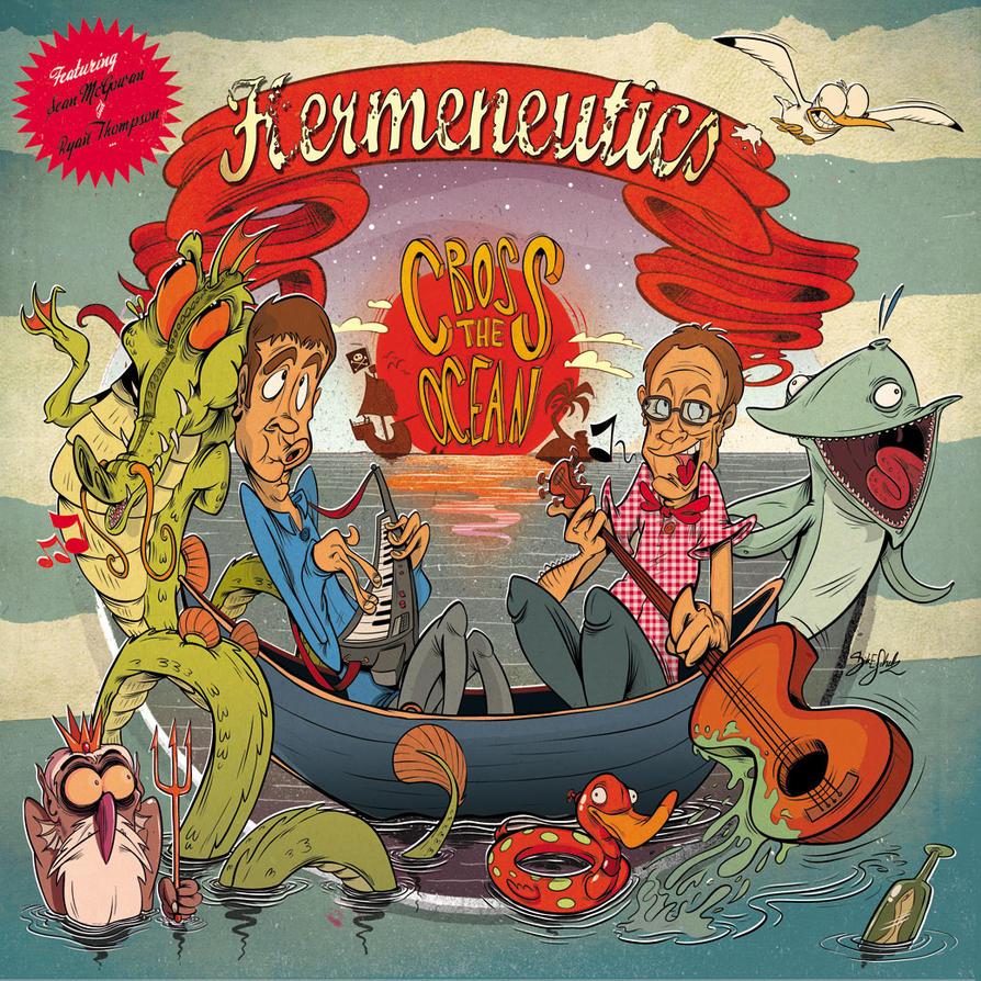 Hermeneutics CD Cover v.0.1 by Themrock
