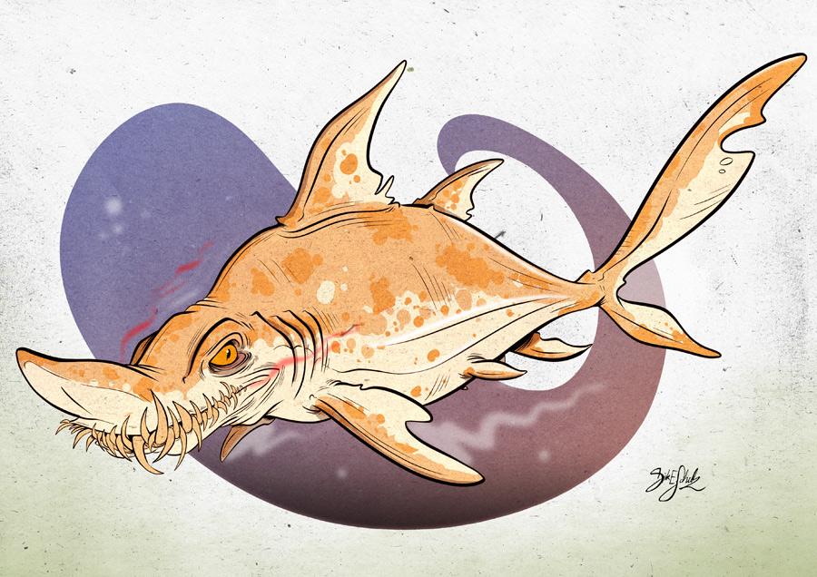 Tiger Shark Logo Shark 08 Sand Tiger Shark by