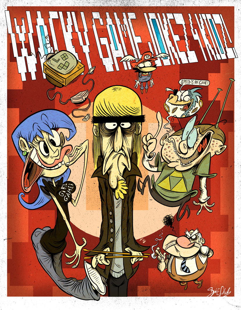 Wacky Game Jokes 4 Kids by Themrock