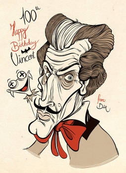 Vincent Price 100th Birthday by Themrock