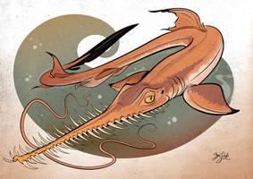 Shark 16 - Longnose Sawshark by Themrock