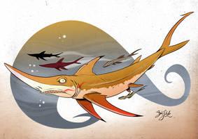 Shark 18 - Sharpnose Shark by Themrock