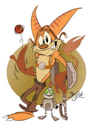 Ratchet and Clank Confession Dropbox! by KrazyKari on DeviantArt