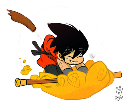 Son Goku Collab