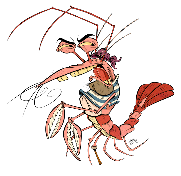 Pirate Shrimp by Themrock