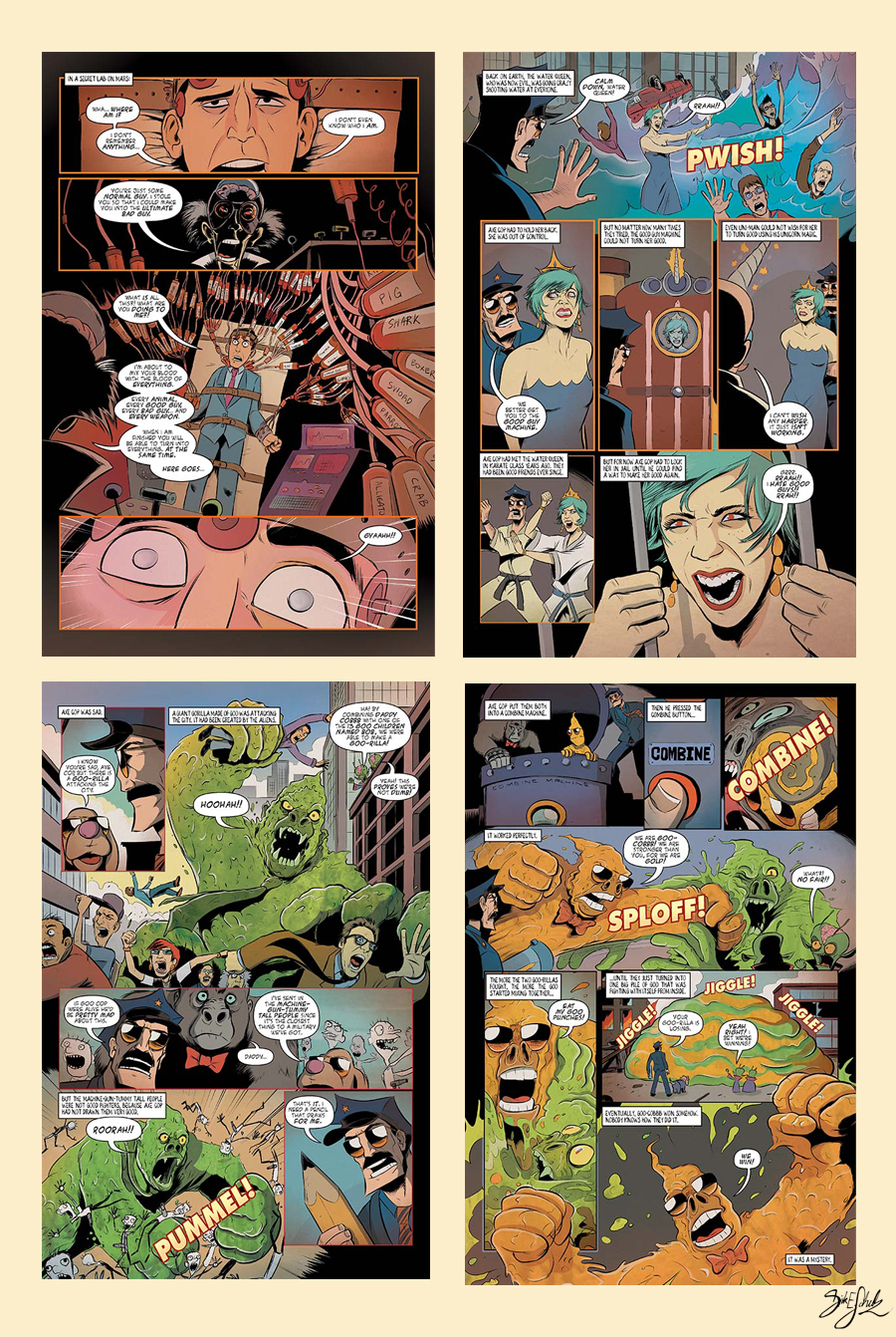 Axe Cop 2 Issue 3 - preview by Themrock