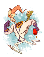 Earthworm Jim by Themrock