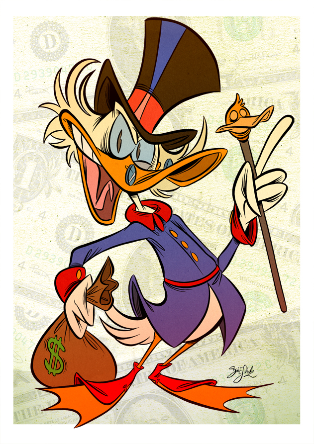 Scrooge McDuck by Themrock