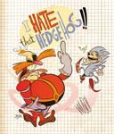 I HATE that HEDGEHOG !!!