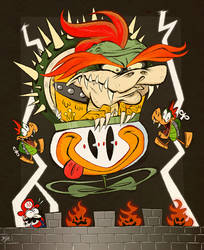 Super Mario World Bowser by Themrock