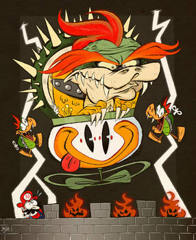 Super Mario World Bowser