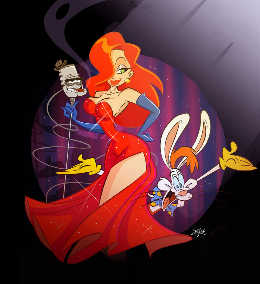 Jessica and Roger Rabbit by Themrock