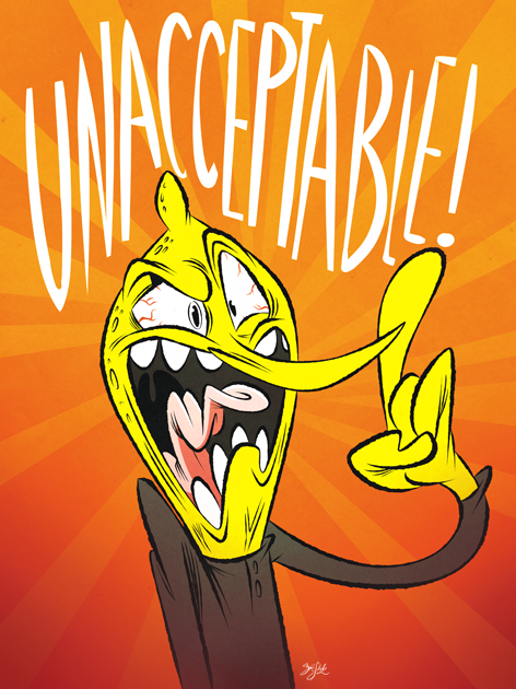 Unacceptable! by Themrock