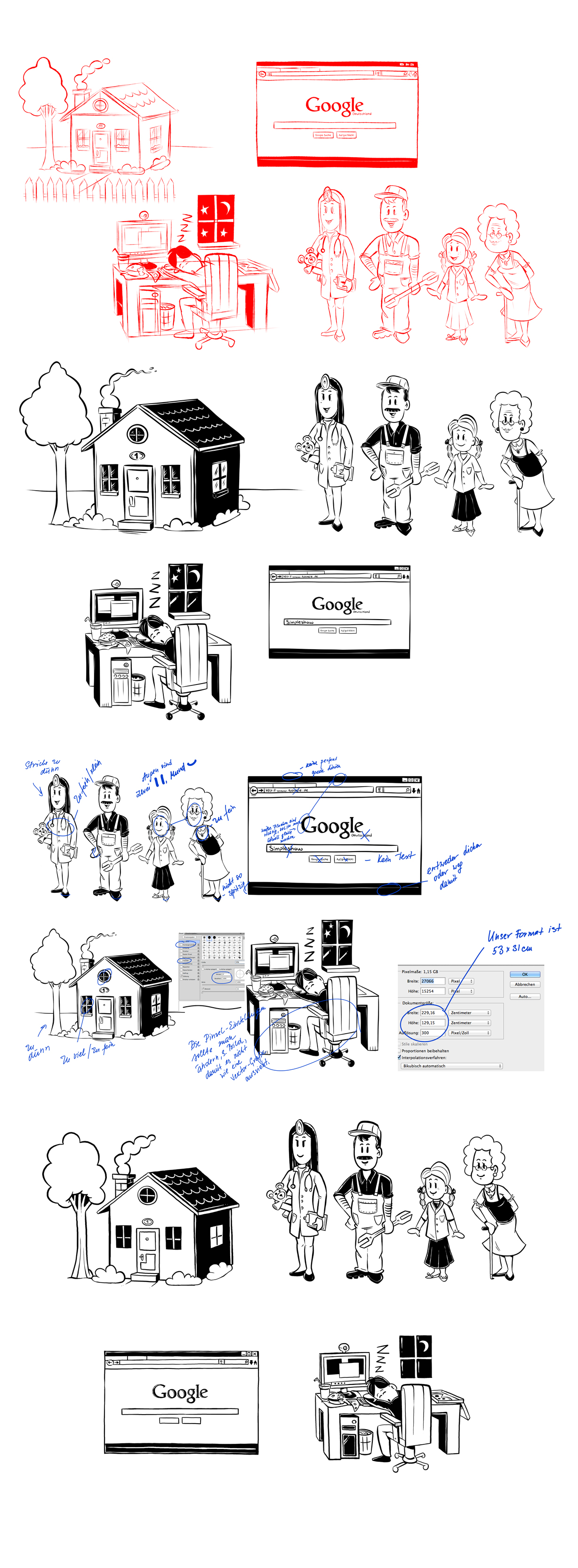 Simpleshow Application Test Drawings by Themrock on DeviantArt