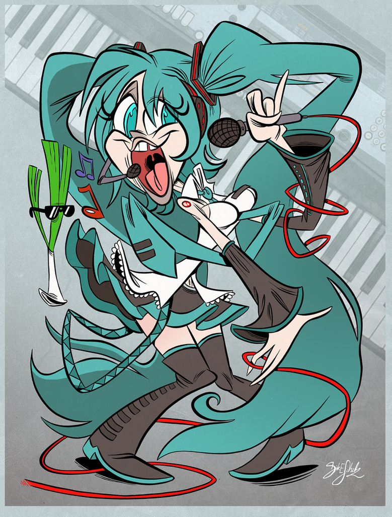 Miku Hatsune by Themrock