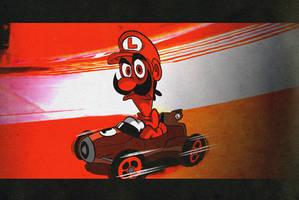 Mario Kart 8 in a Koopashell