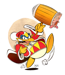 King Dedede by Themrock