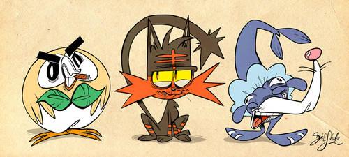 Pokemon Starter 7th Gen