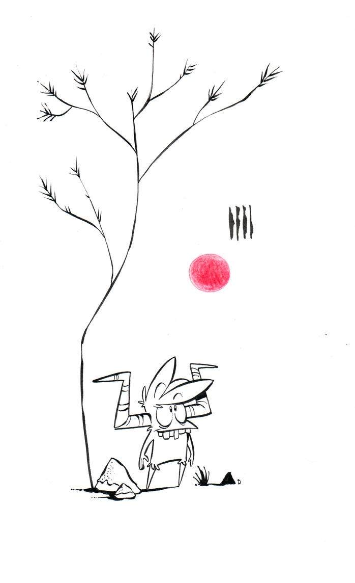 Mossgod by Themrock