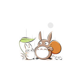 Totoro by Themrock
