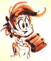 Marscha Ink Sketch by Themrock