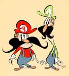 Mario Mario and Luigi Mario by Themrock