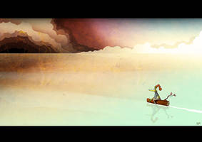 Lonely Ocean by Themrock