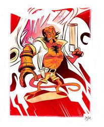 Hellboy by Themrock