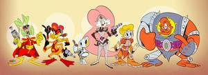 Bucky O'Hare Good Guys Lineup
