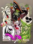 Six Fanarts - Spooky 14th