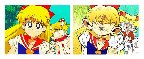 Screencap Redraws: Sailor Moon 08