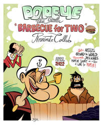 Popeye - Barbecue For Two: Reanimate Collab Poster