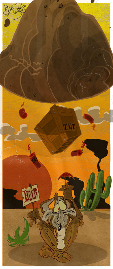 Wile E. Coyote by Themrock on DeviantArt