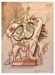 Salvador Dali by Themrock