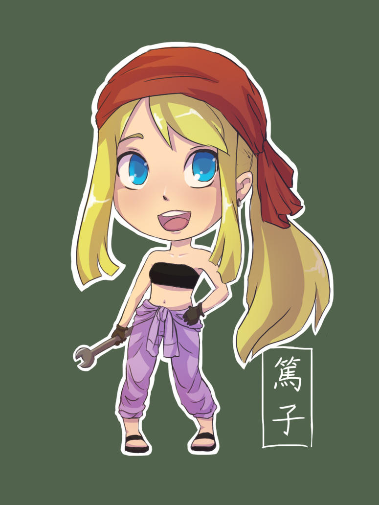 Chibi Winry by yan-tuo-mao