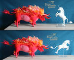 Last Unicorn and Red Bull 01 by Finya-Vardeen