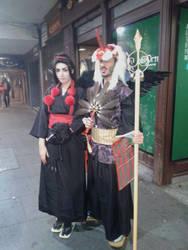 Karasu and Tenguo by ElElfoAzulDeLaNoche