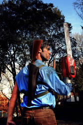 Ash Williams by ElElfoAzulDeLaNoche